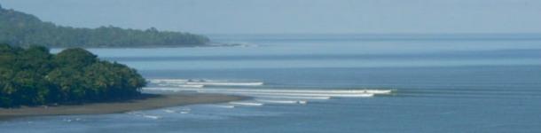 Pavones coast line CR